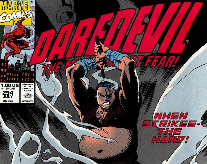 Daredevil #294 July 1991  Marvel Comics  Grade NM