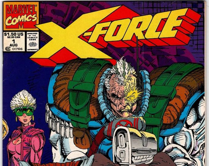 X-Force #1 August 1991   Marvel Comics  Grade NM