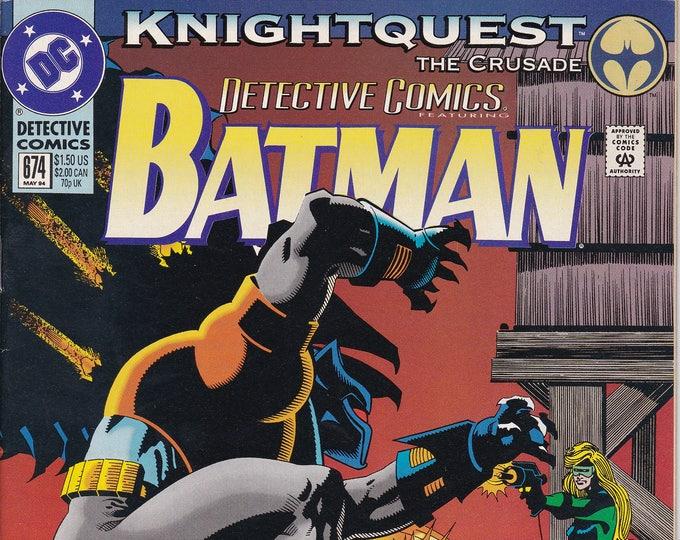 Detective Comics #674 (1937 1st Series) May 1994  DC Comics  Grade VF