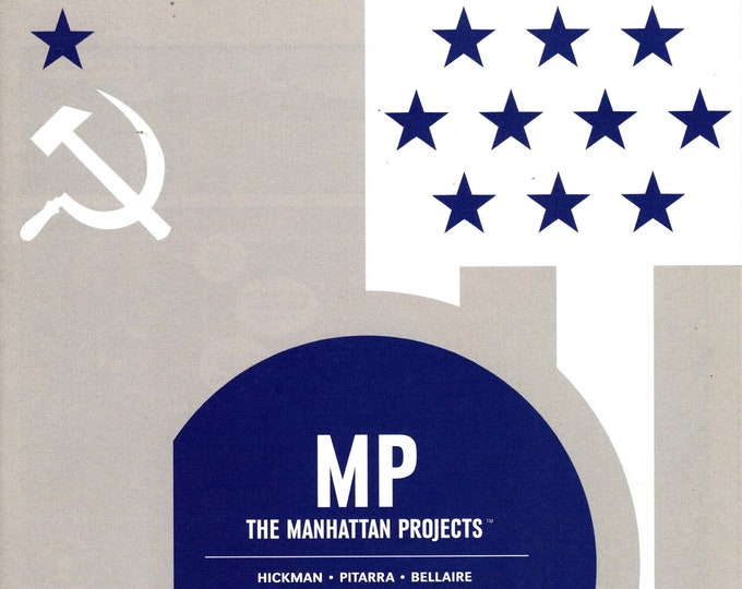 Manhattan Projects #23 August 2014 Image Comics Grade NM