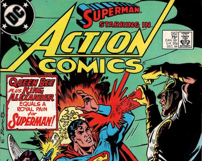 Action Comics #562 December 1984 DC Comics Grade VF