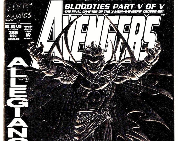 Avengers #369 (1st Series 1963)December 1993   Marvel Comics  Grade NM