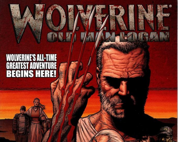Wolverine #66 (1st Old Man Logan) August Issue Marvel Comics  Grade NM
