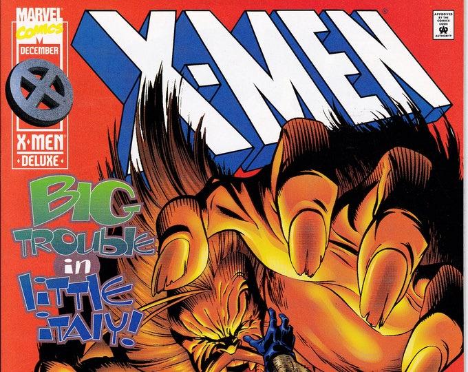 X-Men #47 (1991 1st Series) December 1995  Marvel Comics  Grade NM