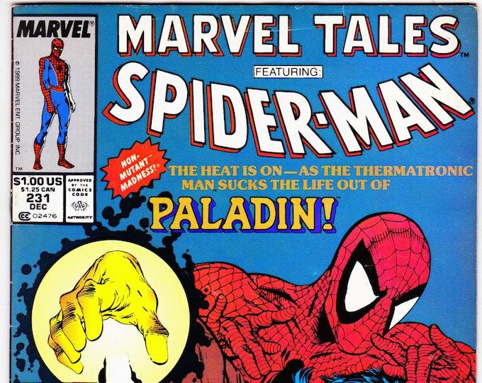 Marvel Tales #231 (1964 Series) December 1989   Marvel Comics Grade Fine