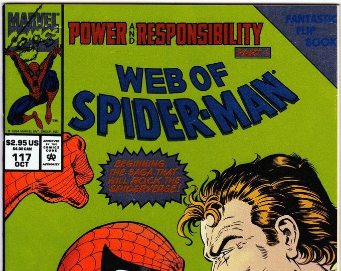 Web of Spider-Man #117 (1st Series 1985) October 1994   Marvel Comics  Grade NM
