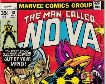 Nova #18 (1976 1st Series) - March 1978 - Marvel Comics - Grade VG