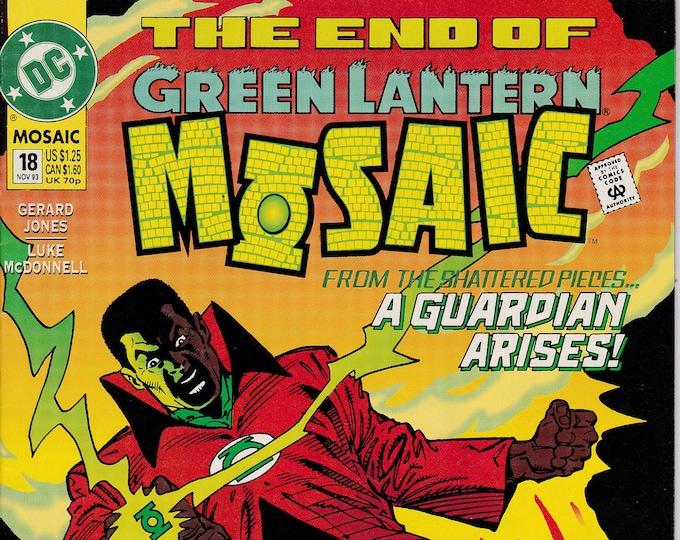 Green Lantern Mosaic #18 (1992 Series) November 1993   DC Comics   Grade NM
