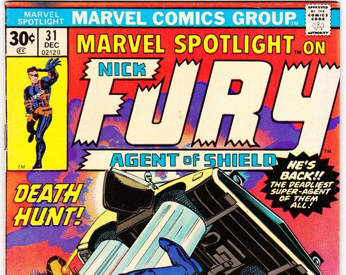 Marvel Spotlight #31 (1st Series 1971) December 1976  Marvel Comics Grade F/VF