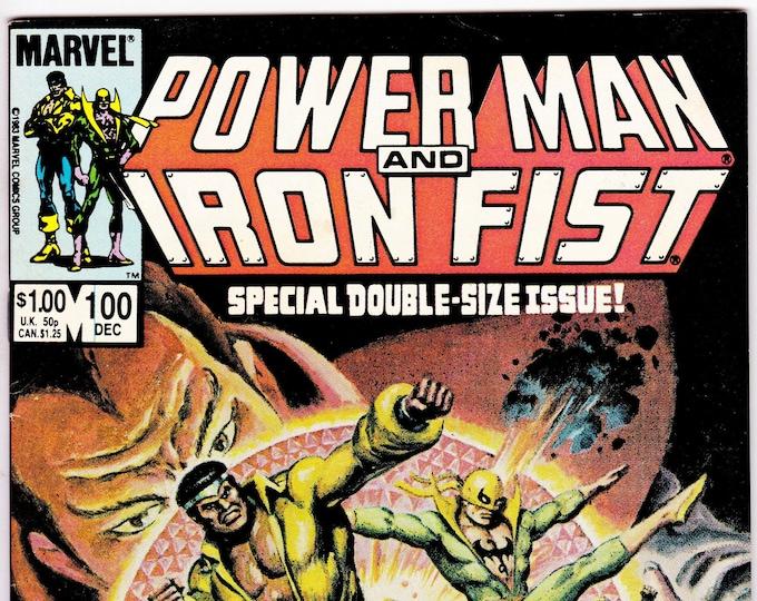 Power Man and Iron Fist #100   December 1983    Marvel Comics   Grade NM