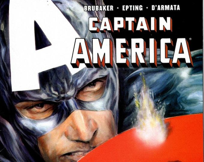 Captain America #37 (5th Series) June 2008  Marvel Comics  Grade VF