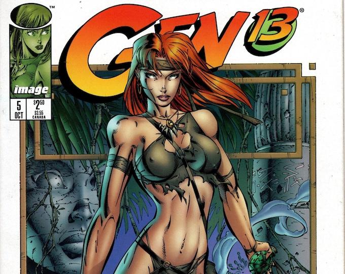 Gen 13 #5 (2nd Series 1995) October 1995   Image Comics  Grade NM