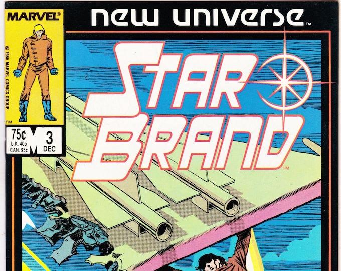StarBrand #3  December 1986    New Universe Comics   Grade NM