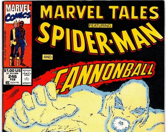 Marvel Tales #246 (1964 Series) February 1991   Marvel Comics  Grade Fine+