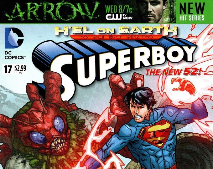 Superboy #17 April 2013  DC Comics  Grade NM