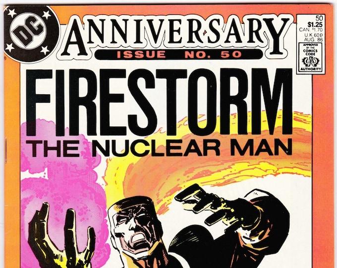 Firestorm #50 (2nd Series 1982) August 1986   DC Comics  Grade NM