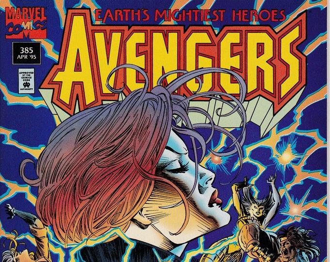 Avengers #385   April 1995   Marvel Comics  Grade VF+