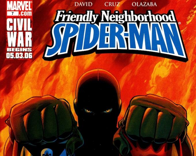 Friendly Neighborhood Spider-Man 7 June 2006  Marvel Comics  Grade NM