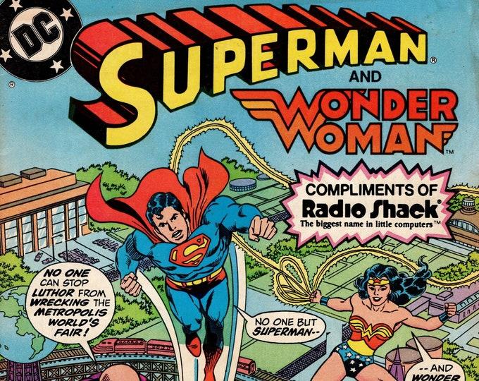 Superman Radio Shack Giveaway #2 (1980) July 1982    DC Comics    Grade VG/F
