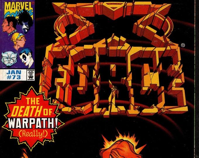 X-Force #73 January 1998 Marvel Comics  Grade VF