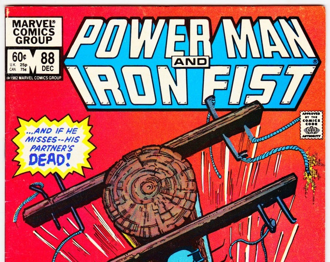 Power Man and Iron Fist #88 (Hero for Hire 1972) December 1982    Marvel Comics   Grade VF