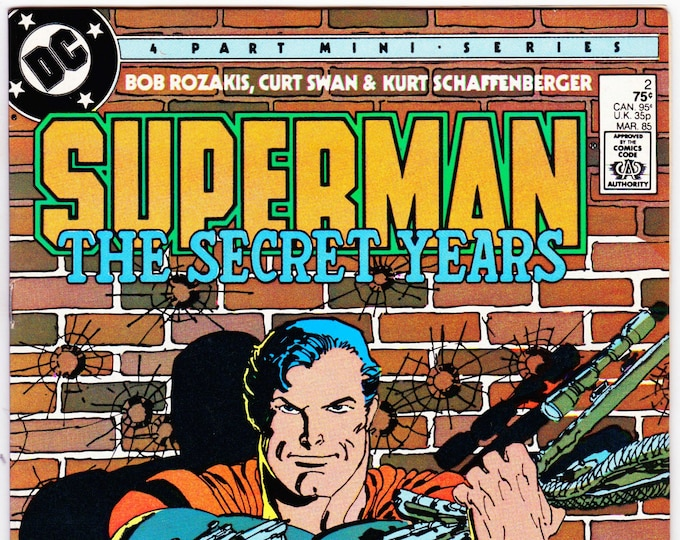 Superman The Secret Years #2   March 1985     DC Comics    Grade NM