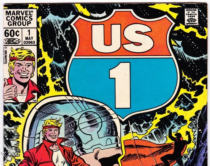 US 1  #1(1983) May 1983   Marvel Comics   Grade Fine+