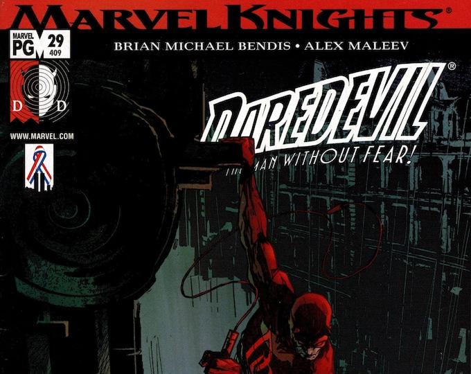 Daredevil #29 March 2002 Marvel Comics  Grade VF