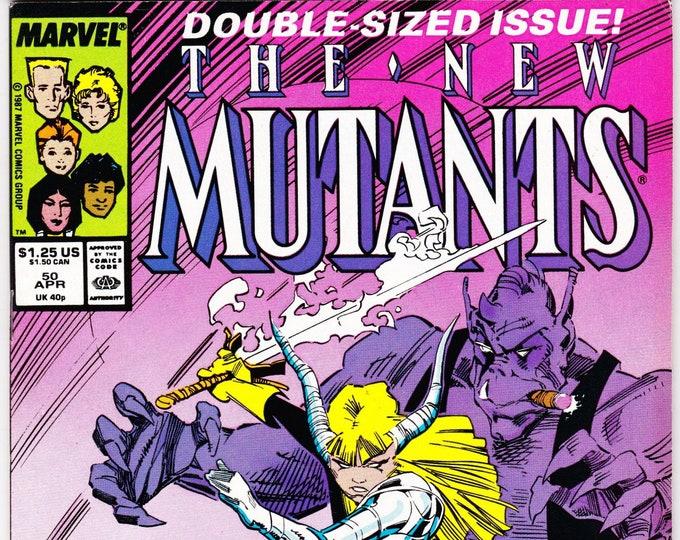 New Mutants #50 (1st Series 1983) April 1987  Marvel Comics Grade VF