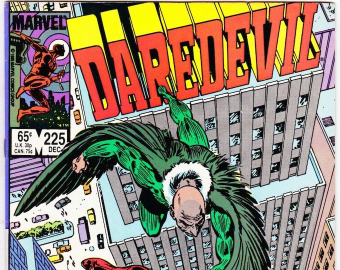 Daredevil #225  December 1985   Marvel Comics   Grade NM