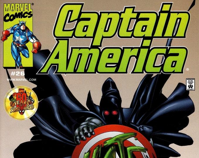 Captain America #26 (3rd Series) February 2000  Marvel Comics  Grade Fine