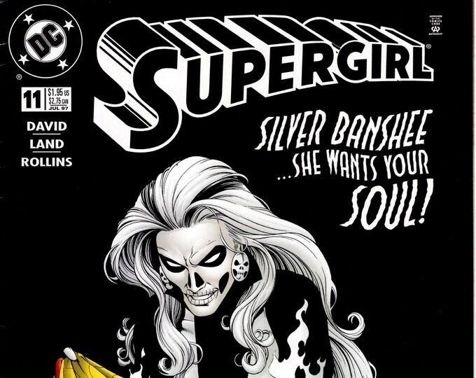 Supergirl #11 (3rd Series) July 1997   DC Comics   Grade VF