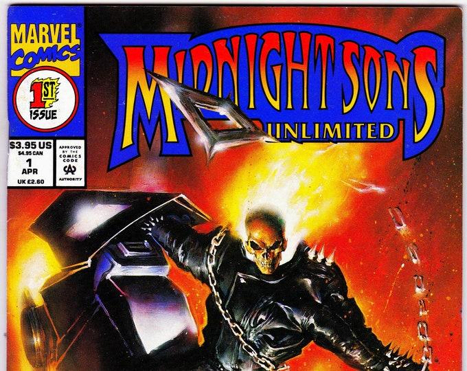 Midnight Sons Unlimited #1 (1993) April 1993    Marvel Comics    Grade NM