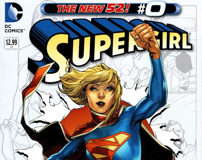 Supergirl #0 November 2012 DC Comics Grade NM