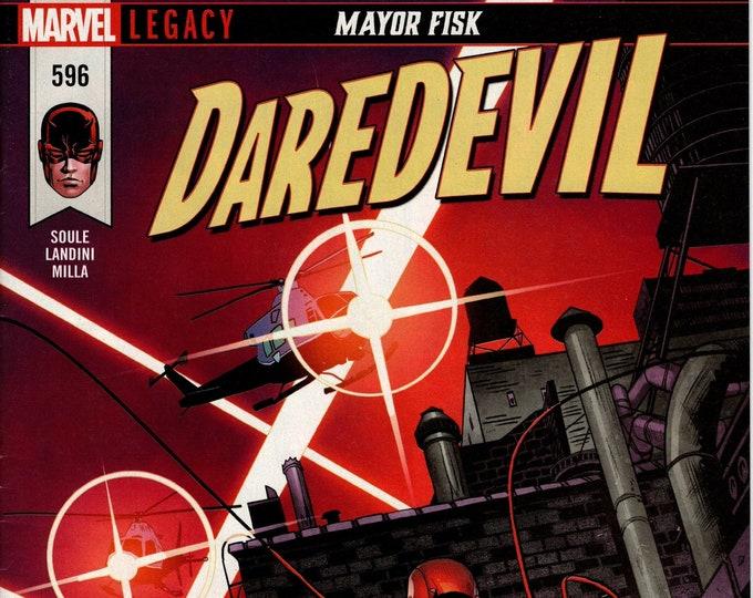 Daredevil #596 February Issue  Marvel Comics  Grade NM