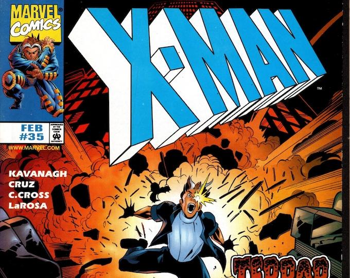 X-Man #35 (1995 Series) February 1998 Marvel Comics Grade NM