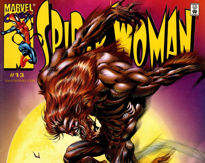 Spider-Woman #13 (3rd Series) July 2000 Marvel Comics Grade Fine