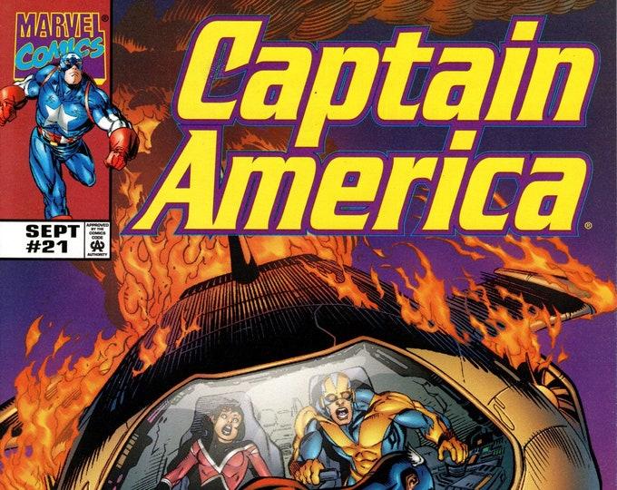 Captain America #21 (3rd Series) September 1999  Marvel Comics  Grade NM