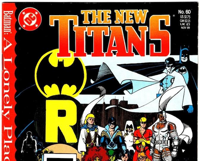 New Teen Titans #60 (1984 2nd Series)  November 1989  DC Comics  Grade NM