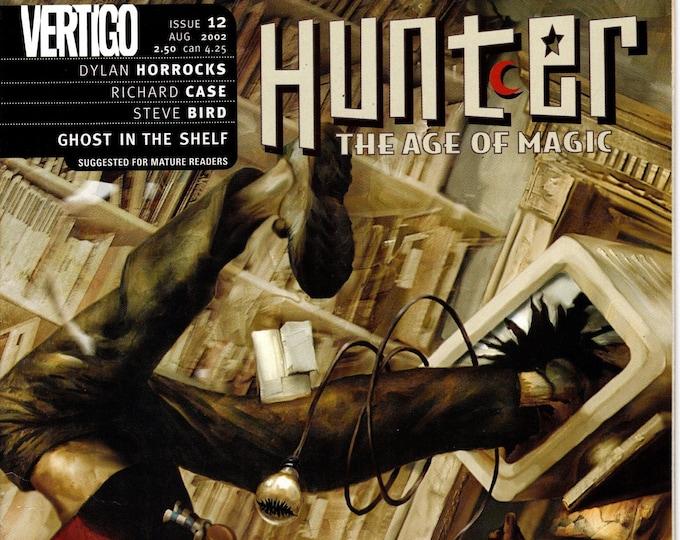 Hunter The Age Of Magic #12  August 2002   Vertigo/DC Comics   Grade VF