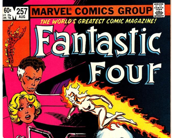 Fantastic Four #257 (1st Series 1961) August 1983 Marvel Comics  Grade VF/NM