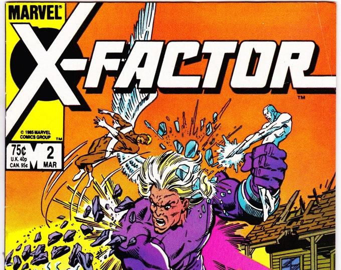 X-Factor #2    March 1986     Marvel Comics   Grade VF