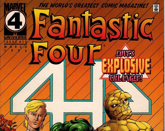 Fantastic Four #410 March 1996  Marvel Comics  Grade NM