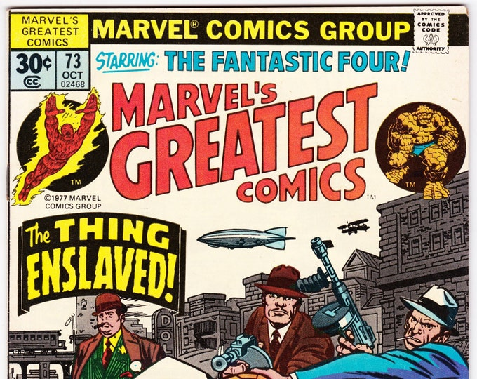 Marvel's Greatest Comics #73 (1st Series 1969) October 1977  Marvel Comics  Grade VF
