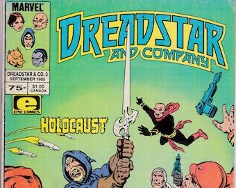 Dreadstar and Company #3 (1985 Series)  September 1985  Marvel Comics Grade VG