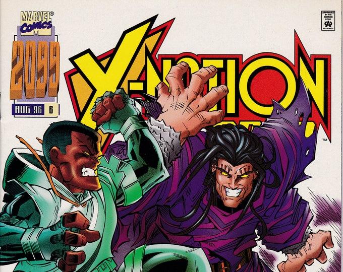 X-Nation 2099 #6 (1996) August 1996 Marvel Comics Grade NM