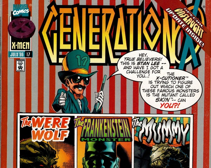 Generation X #17 July 1996   Marvel Comics   Grade NM