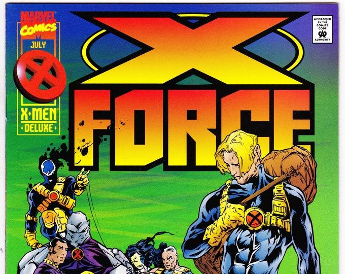 X-Force #44    July 1995   Marvel Comics   Grade NM