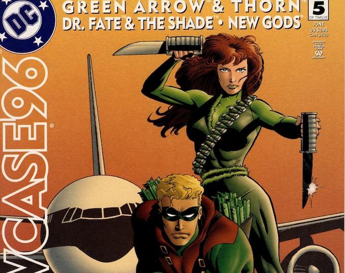 Showcase 96 #5 (Green Arrow, Thorn, Dr Fate, New Gods) June 1996    DC Comics   Grade NM