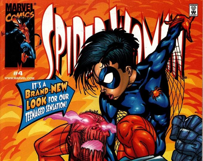 Spider-Woman #4 (3rd Series) October 1999 Marvel Comics Grade VF